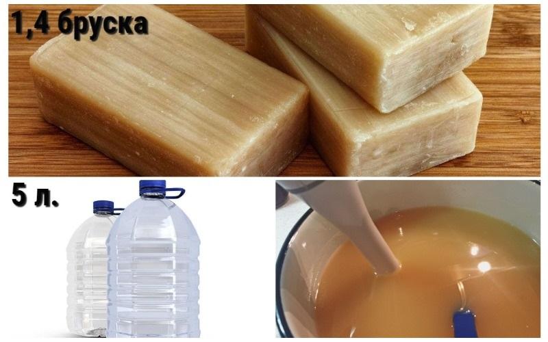 Мыльно-водяной раствор для клубники кимберли