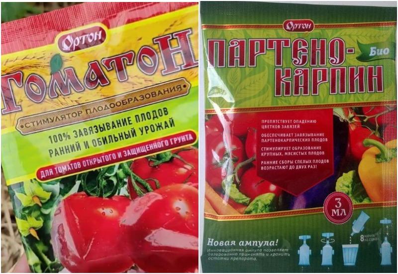 Партенокарпин-БИО, Томатон, чем опрыскать помидоры для завязи в теплице