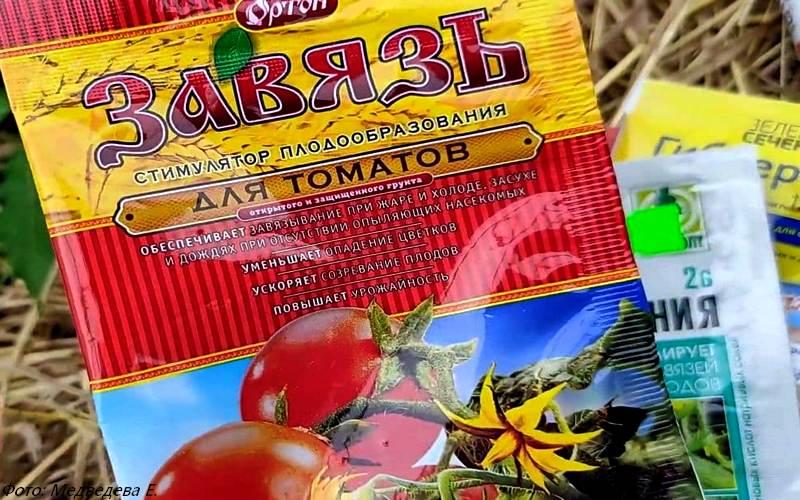 чем опрыскать помидоры для завязи в теплице, препарат Завязь